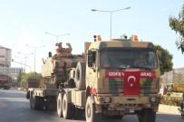 Kilis'ten Münbiç Bölgesine Zırhlı Muharebe Aracı Sevkıyatı