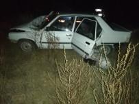 Selendi'de Otomobil İle Çekici Çarpıştı Açıklaması 2 Yaralı