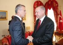 OSMAN AŞKIN BAK - Cumhurbaşkanı Erdoğan, NATO Genel Sekreteri Stoltenberg'i Kabul Etti