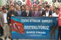 SAVAŞ KARŞITI - Şırnak'taki STK'lar Açıklaması 'Terörü Bitirecek Harekatı Destekliyoruz'