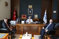 TUZ GÖLÜ - BOTAŞ Yöneticileri Rektör Şahin'le Görüştü
