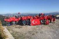 DUMANLı  - Doğaseverlerden Mehmetçiğe Destek Tırmanışı