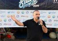 ÇAĞLA KUBAT - Rüzgar Sörfü 3. Ayak Yarışı Büyükçekmece'de Gerçekleştirildi