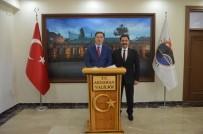ÇıLDıR GÖLÜ - Kamu Başdenetçisi Şeref Malkoç, Ardahan Valisi Mustafa Masatlı'yı Ziyaret Etti