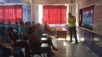 HÜKÜMDAR - Karpuzlu'da Öğrenciler Trafik Eğitimi Aldı