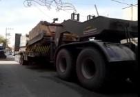 Kilis'ten Suriye Sınırına Askeri Sevkıyat