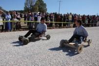 HÜSEYIN ARSLAN - Kütahya'da Kıran Kırana 'Tahtalı Araba' Yarışı