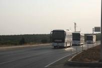 Kilis'ten Şanlıurfa'ya Suriye Milli Ordusu Askerleri Sevk Edildi