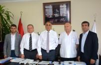 ATATÜRK EĞİTİM VE ARAŞTIRMA HASTANESİ - Başhekim Prof. Dr. Ali Gürbüz, Doktora Saldırıyı Kınadı