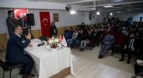 KONGRE SALONU - Başkan Ercan Gençlerle Projelerini Paylaştı