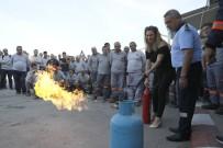 ALARM SİSTEMİ - Belediye Personeline Yangın Tatbikatı