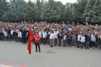ALANYURT - Bin 380 Öğrenci Aynı Anda Asker Selamı Vererek, Barış Pınarı'na Destek Oldu