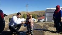 Köy Öğrencileriyle Uçurtma Etkinliği Düzenlendi