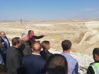 DSİ Genel Müdürü Aydın'dan Eskişehir Gökpınar Barajında İnceleme