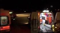 TÜP PATLAMASI - Ambulans Uçağın Dört İl Arasındaki Nakil Maratonu