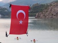 Çoruh Nehri Üzerinde Türk Bayrağı Açtılar