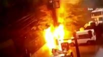Mazıdağı'nda Trafo Bomba Gibi Patladı