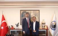 TANJU ÖZCAN - Bolu Belediye Başkanı Özcan'dan Başkan Yüksel'e Ziyaret