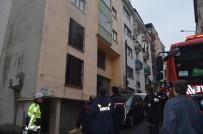 İTFAİYE MERDİVENİ - Tapu Kadastro Bölge Müdürlüğü'nün Arşiv Deposunda Korkutan Yangın