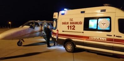 Ambulans Uçak Bir Günlük Bebek İçin Havalandı