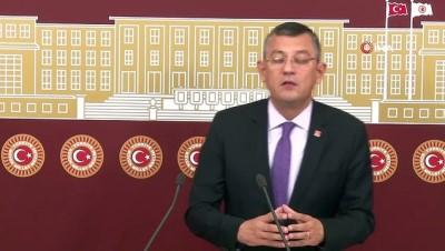 CHP Grup Başkanvekili Özel Açıklaması 'Barışa Hizmet Eden Her Anlaşma İyi Bir Anlaşmadır'