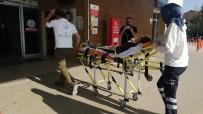 ALANYURT - Kazada Yaralandı, Elindeki Çikolatayı Bırakmadı