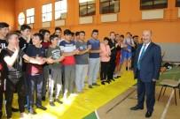 İMAM HATIP LISELERI - Kütahya'da Anadolu İmam Hatip Lisesi Öğrencileri Arası Güreş Müsabakaları Başladı