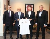 SERVET YARDıMCı - Nihat Özdemir'e Kırgızistan Federasyon Başkanı Mamatov'dan Ziyaret