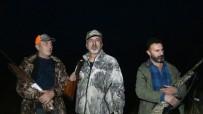 KOZLUCA - Erciş'te Yaban Domuzlarına Sürek Avı