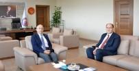 Kaymakam Uzunoğlu'dan Rektör Murat'a Ziyaret