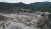 KOCADERE - Kocadere Gölet Çalışmaları Devam Ediyor