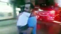 MUHABBET KUŞU - Yangında Evde Mahsur Kalan Anne Ve Oğlu Kurtarıldı