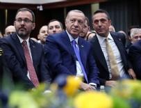 OSMAN AŞKIN BAK - Cumhurbaşkanı Erdoğan, Fenerbahçe Yüksek Divan Kurulu Üyesi oldu