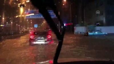Trabzon'da Şiddetli Sağanak