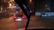 KAŞÜSTÜ - Trabzon'da Şiddetli Sağanak