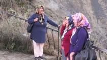NİAGARA ŞELALESİ - Tortum Şelalesi'ne Sonbaharda Turist İlgisi