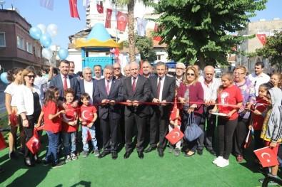 Akdeniz Belediyesinden Camişerif Mahallesine Yeni Park