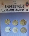 Balıkesir'de  6 Altın Sikke Yakalandı