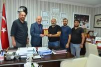 AHMET DEMİR - KARDOFF Kulübünden Uzun'a Teşekkür Plaketi