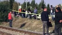 YOLCU TRENİ - Adana'da Trenin Çarptığı Genç Futbolcu Öldü
