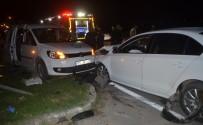 MUSTAFA AVCı - Bafra'da Trafik Kazası Açıklaması 7 Yaralı