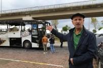 Otobüs Yangınlarına 'Otobüslerdeki Televizyon Ve Prizler Sebep Oluyor' İddiası