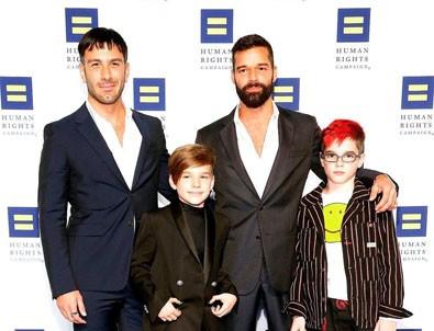 Ricky Martin dördüncü kez baba oldu