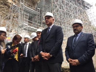 'Sümela Manastırı'nın 2. Etabını Da Mayısta Ziyarete Açacağız'