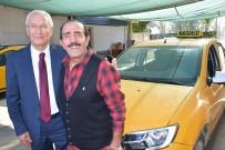 MUSTAFA KESER - Mustafa Keser 10 Yıl Taksicilik Yaptığı İzmir'de Nostalji Yaşadı
