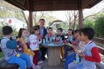 ALİ ORKUN ERCENGİZ - Başkan Ercengiz, Hayvanları Koruma Gününü Öğrencilerle Kutlandı