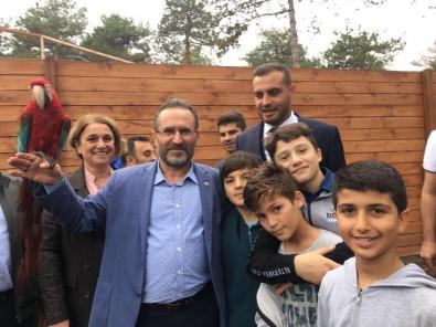 Çekmeköy'de Şehit Ve Gazi Çocukları Hayvanat Bahçesini Gezdi