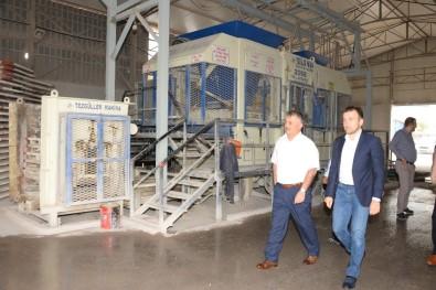 Vali Yazıcı, Bandırma'da Sanayi Kuruluşlarını Ziyaret Etti