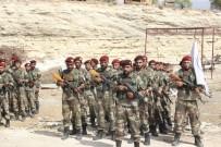 UÇAKSAVAR - Suriye Geçici Hükümetine Bağlı Suriye Milli Ordusu'ndan PYD-PKK'ya Gözdağı
