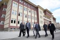 ERDEM BAYAZıT - Vali Cüneyt Epcim, Okul Ve Pansiyonlarda İncelemede Bulundu